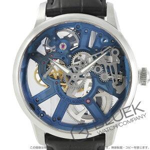 モーリス・ラクロア マスターピース スケルトン アリゲーターレザー 腕時計 メンズ MAURICE LACROIX MP7228-SS001-004-1