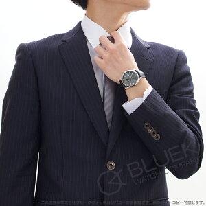 モーリス・ラクロア ポントス デイデイト アリゲーターレザー 腕時計 メンズ MAURICE LACROIX PT6158-SS001-23E
