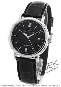 IWC 腕時計 ポートフィノ アリゲーターレザー メンズ IW356502