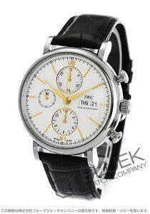 IWC 腕時計 ポートフィノ アリゲーターレザー メンズ IW391022