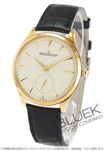 ジャガールクルト Jaeger-LeCoultre 腕時計 マスター ウルトラスリム PG金無垢 アリゲーターレザー メンズ Q1272510
