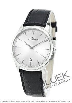 ジャガールクルト マスター ウルトラスリム アリゲーターレザー 腕時計 メンズ Jaeger-LeCoultre Q1288420