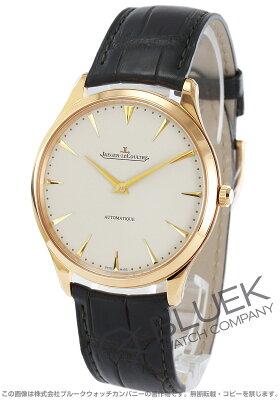 ジャガールクルト Jaeger-LeCoultre 腕時計 マスター ウルトラスリム PG金無垢 アリゲーターレザー メンズ Q1332511