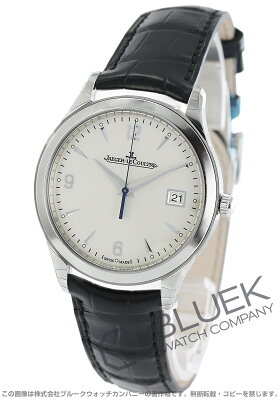 ジャガールクルト Jaeger-LeCoultre 腕時計 マスター コントロール デイト アリゲーターレザー メンズ Q1548420