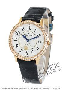 ジャガールクルト Jaeger-LeCoultre 腕時計 ランデヴー ナイト&デイ ダイヤ PG金無垢 アリゲーターレザー レディース Q3442420