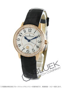 ジャガールクルト Jaeger-LeCoultre 腕時計 ランデヴー ナイト&デイ ダイヤ PG金無垢 アリゲーターレザー レディース Q3462421