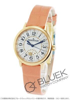ジャガールクルト Jaeger-LeCoultre 腕時計 ランデヴー ナイト&デイ ダイヤ PG金無垢 アリゲーターレザー レディース Q3462490