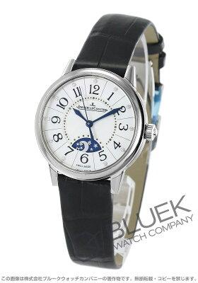 ジャガールクルト ランデヴー ナイト&デイ ダイヤ アリゲーターレザー 腕時計 レディース Jaeger-LeCoultre Q3468490