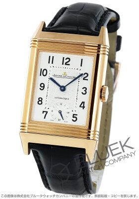 ジャガールクルト Jaeger-LeCoultre 腕時計 グランド レベルソ オートマティーク ナイト&デイ PG金無垢 アリゲーターレザー メンズ Q3802520