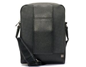 ダンヒル dunhill ショルダーバッグ ディーエイト 【D-EIGHT】 グレー&ブラック L3F161Z メンズ