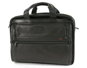 【TUMI】【トゥミビジネスバッグ】【新品】TUMI 96130DH Alpha Essential ビジネスバッグ ブラック