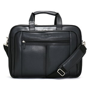 サムソナイト Samsonite ビジネスバッグ LEATHER BUSINESS CASE CHECKPOINT ブラック 43122 1041 メンズ