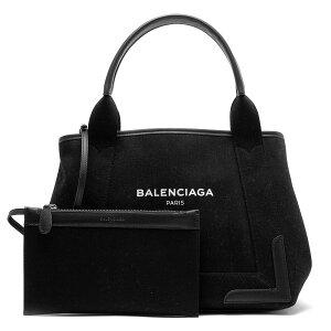 バレンシアガ BALENCIAGA トートバッグ ネイビーカバス NAVY CABAS S ブラック 339933 9DH1N 1090 2017年秋冬新作 レディース