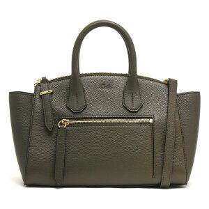 Barry Tote Bag/Shoulder Bag Bag Women's Some Zip Small Fango Green SOMMET ZIP SM 51 6225424 BALLY