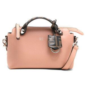 حقيبة يد فندي / حقيبة كتف نسائية من ذا واي صغيرة بوربون وردي ومايا بني وأسود وبالاديو 8BL145 A6CO F19WG FENDI