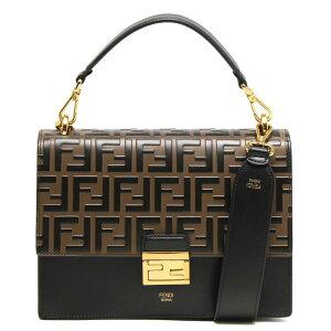 Fendi حقيبة يد / حقيبة كتف للسيدات هل يمكنك Zucca Black & Maya Brown & Aurosoft 8BT315 A5TY F13WB 2020 لربيع وصيف جديد FENDI