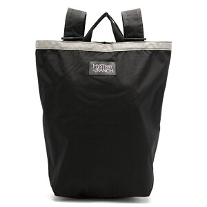 ミステリーランチ MYSTERY RANCH トートバッグ/リュックサック ブーティバッグ 【BOOTY BAG】 ブラック 888564154724 メンズ