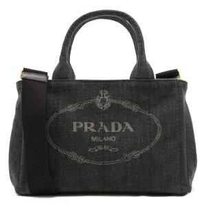 プラダ PRADA ハンドバッグ/ショルダーバッグ カナパ 【CANAPA】 三角ロゴプレート ブラック 1BG439 AJ6 F0002 レディース