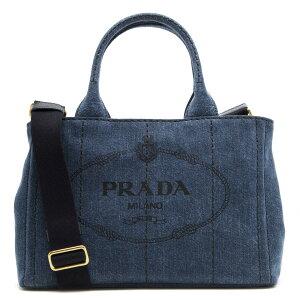 プラダ PRADA ハンドバッグ/ショルダーバッグ カナパ 【CANAPA】 三角ロゴプレート ブルー 1BG439 AJ6 F0008 レディース