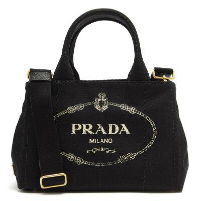 プラダ PRADA ハンドバッグ/ショルダーバッグ カナパ 【CANAPA】 三角ロゴプレート ブラック 1BG439 ZKI F0002 レディース