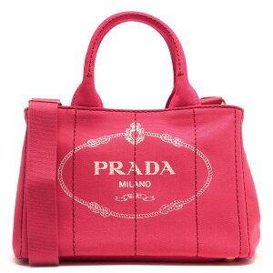 プラダ PRADA ハンドバッグ/ショルダーバッグ カナパ CANAPA 三角ロゴプレート ペオニアピンク 1BG439 ZKI F0505 レディース