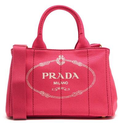 プラダ PRADA トートバッグ/ショルダーバッグ カナパ CANAPA 三角ロゴプレート ペオニアピンク 1BG439 ZKI F0505 レディース