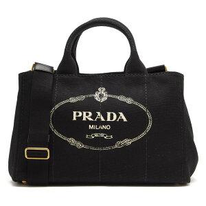 プラダ PRADA トートバッグ/ショルダーバッグ カナパ 【CANAPA】 三角ロゴプレート ブラック 1BG642 ZKI F0002 レディース