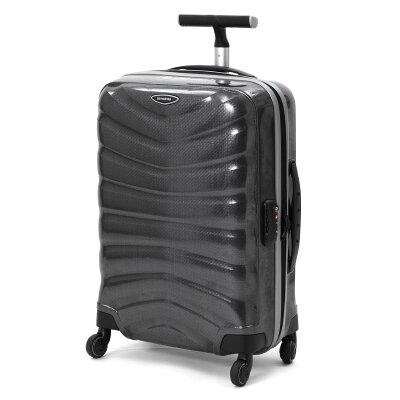 サムソナイト SAMSONITE スーツケース ファイアーライト スピナー 【FIRELITE】 55cm チャコールブラック 76218 1174 メンズ レディース