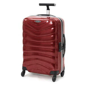 サムソナイト SAMSONITE スーツケース ファイアーライト スピナー 【FIRELITE】 55cm チリレッド 76218 1198 メンズ レディース