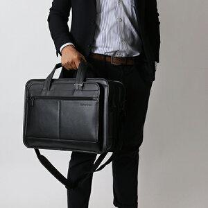 サムソナイト ビジネスバッグ バッグ メンズ LEATHER BUSINESS CASE EXPANDABLE ブラック 43118 1041 SAMSONITE