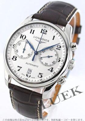 ロンジン LONGINES 腕時計 マスターコレクション アリゲーターレザー メンズ L2.629.4.78.3
