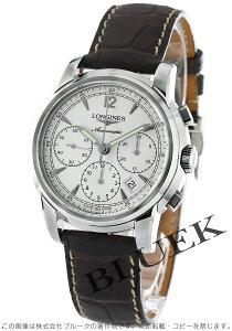 ロンジン LONGINES 腕時計 サンティミエ アリゲーターレザー メンズ L2.752.4.72.0
