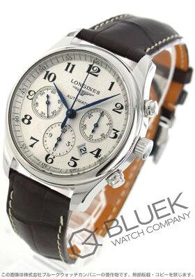 ロンジン LONGINES 腕時計 マスターコレクション アリゲーターレザー メンズ L2.759.4.78.3