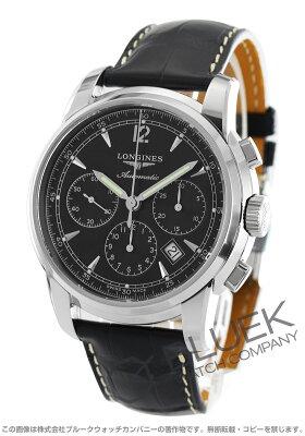 ロンジン LONGINES 腕時計 サンティミエ アリゲーターレザー メンズ L2.784.4.52.3