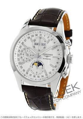ロンジン LONGINES 腕時計 コンクエスト クラシック アリゲーターレザー メンズ L2.798.4.72.3