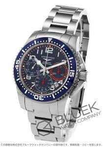 ロンジン LONGINES 腕時計 ハイドロコンクエスト 300m防水 メンズ L3.696.4.03.6