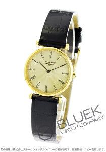 ロンジン LONGINES 腕時計 グランドクラシック アリゲーターレザー レディース L4.209.2.41.2