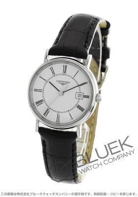 ロンジン LONGINES 腕時計 グランドクラシック プレザンス アリゲーターレザー レディース L4.280.4.11.2