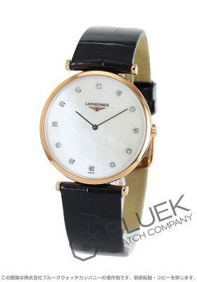 ロンジン LONGINES 腕時計 グランドクラシック ダイヤ アリゲーターレザー メンズ L4.709.1.97.2
