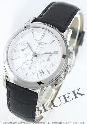 ロンジン フラッグシップ クロノグラフ 腕時計 メンズ LONGINES L4.803.4.12.2