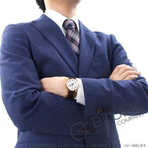 ロンジン マスターコレクション PG金無垢 アリゲーターレザー 腕時計 メンズ LONGINES L2.518.8.78.5