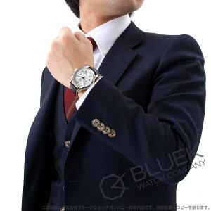 ロンジン サンティミエ クロノグラフ アリゲーターレザー 腕時計 メンズ LONGINES L2.784.4.73.0