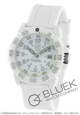 ルミノックス LUMINOX 腕時計 ネイビーシール カラーマーク ホワイトアウト メンズ 3057.WO