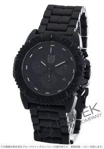 ルミノックス LUMINOX 腕時計 ネイビーシール カラーマーク ブラックアウト メンズ 3082.BO