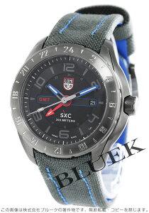 ルミノックス LUMINOX 腕時計 SXC GMT コーデュラレザー メンズ 5121.GN