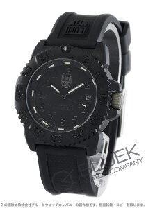 ルミノックス LUMINOX 腕時計 ネイビーシール カラーマーク ブラックアウト メンズ 7051.BO