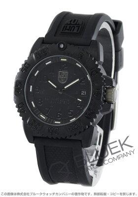 ルミノックス LUMINOX 腕時計 ネイビーシール カラーマーク ブラックアウト ユニセックス 7051.BO
