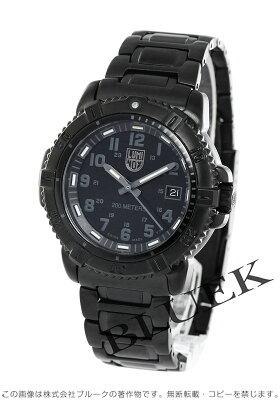 ルミノックス LUMINOX 腕時計 ネイビーシール モダンマリナー ブラックアウト ユニセックス 7252 Blackout