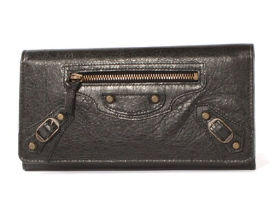 バレンシアガ BALENCIAGA クラシックマネー 長財布 【NERO/ブラック) 163471