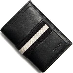 バリー BALLY カードケース【名刺入れ】 TIANSON ブラック TIANSON 290 メンズ